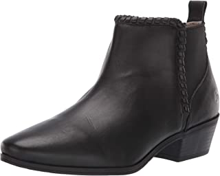 Jack Rogers Women's Tori Ankle Bootie Boot, black leather, 6.5 M US
