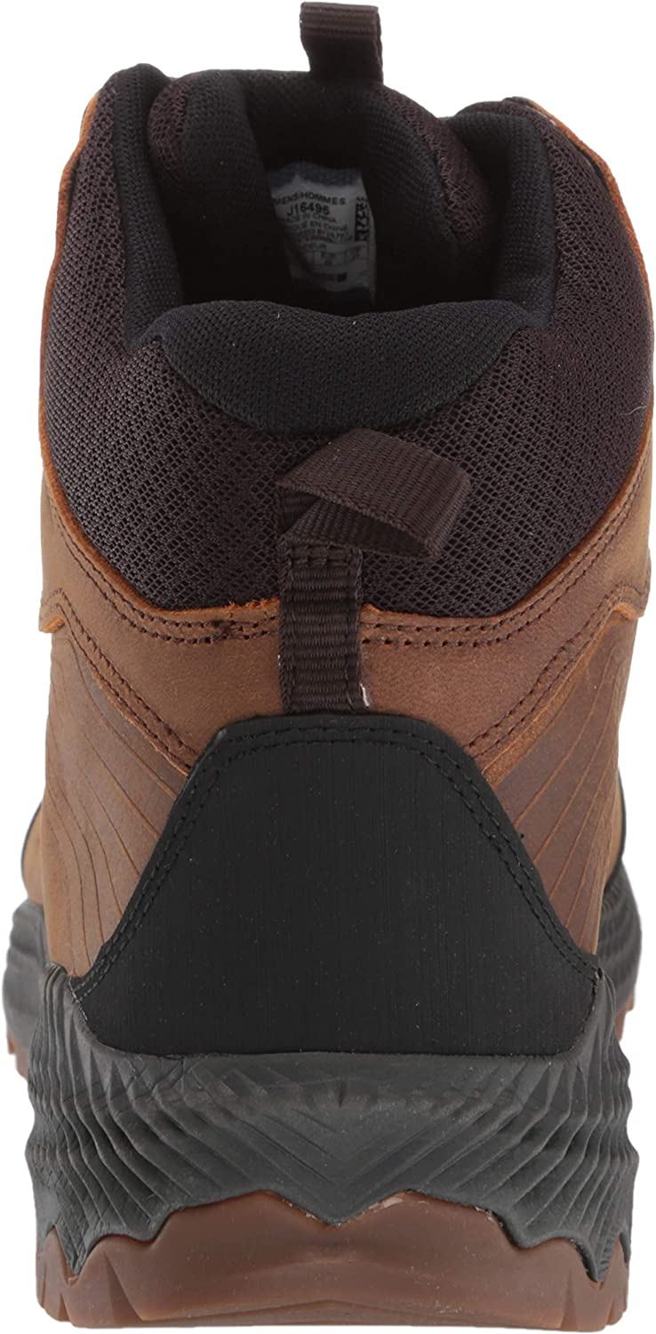 Merrell Mens Forestbound Mid Waterproof High Rise Hiking Boots