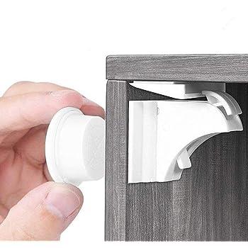 LifenC ajustable niño seguridad cerraduras | Sin Perforaciones ...