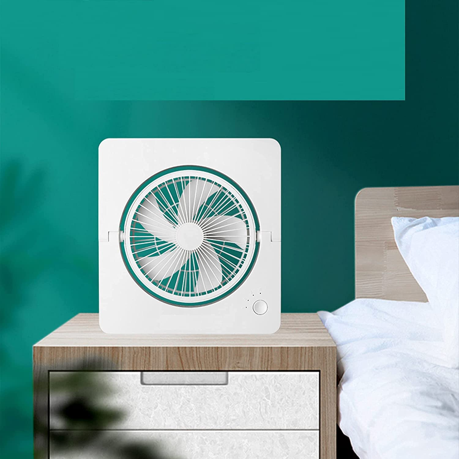 2 In 1 Air Circulator Fan Max 88% OFF Power Supply Brand new Small USB Qui charger