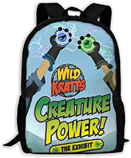 School Backpack Set School Bag Boys&Girls Bookbag Travel Daypack-Wild Kratts