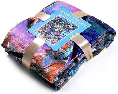 Nelton [60 x 80 inches] Plush Throw Fleece Blanket for Battle Royale, Lightweight Soft Plush Fluffy Warm Cozy – Perfect for B