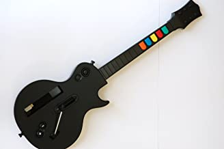 Wireless Guitar for Wii Guitar Hero and Rock Band Games Color Black