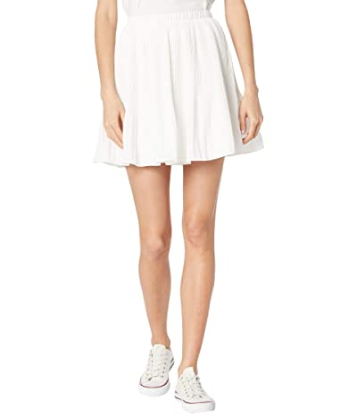 BB Dakota x Steve Madden Life Com-Pleat Skirt (Ivory) Women