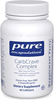 Pure Encapsulations - CarbCrave Complex - with Sensoril Trim to Help Moderate Carbohydrate Intake and Lessen Appetite - 90...