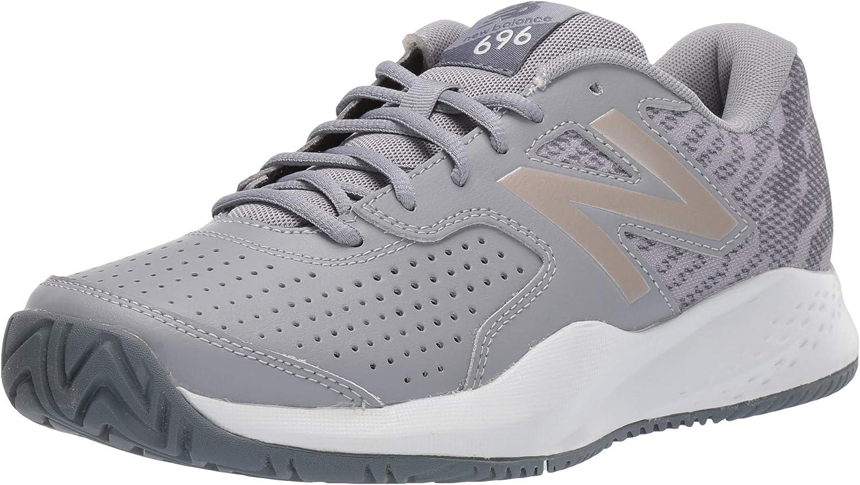 New Balance Women's 696 V3 Hard Court Tennis Shoe