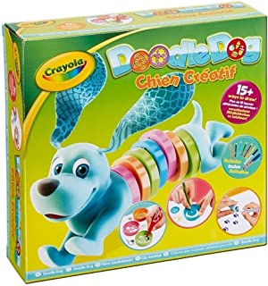 Crayola 93021 Doodle Dog Arts and Crafts Toy with Pencils and Marker Pens