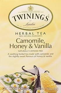 Twinings Herbal Tea Chamomile Honey and Vanilla -- 20 Tea Bags