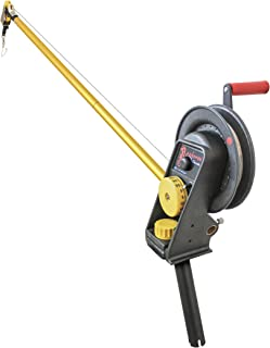 Seahorse Manual Downrigger with Extended Boom and Gimbal Mount by Troll-Master