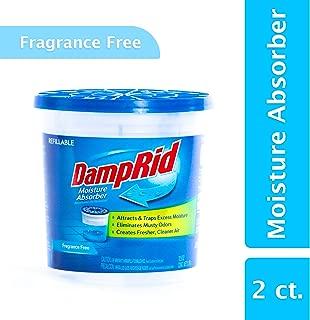 DampRid Fg60 Refillable Moisture Absorber, Fragrance Free