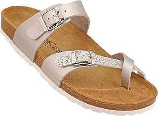 012-274 Biochic Ladies Sandals Metallic Gold