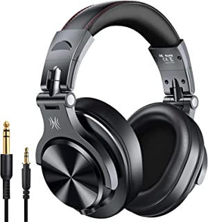 OneOdio Fusion Bluetooth Over Ear Headphones, Studio DJ Headphones with Share-Port, Wired and Wireless Professional Monito...