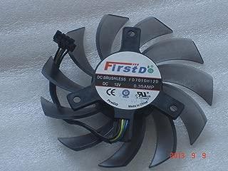 Sapphire Vapor-X HD4850 HD4870 Video Fan,FD7010H12D 12V 0.35A 4Wire Cooling Fan
