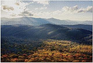 HDノースカロライナ-シュガーマウンテン9030280から秋のブルーリッジマウンテンズサンセット(プレミアム19ピースジグソーパズル19x27)