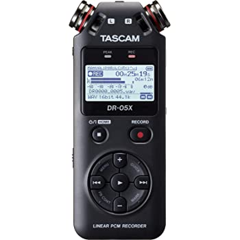 Tascam DR-05X Stereo Handheld Digital Recorder and USB Audio Interface, DR-05X (DR-05X)