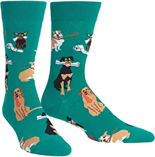 Sock It to Me, Mens Crew, Animals