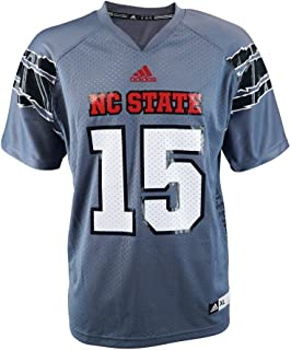 nc state grey football jersey