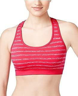 Women's Tonal Space Dye Striped Sports Bra