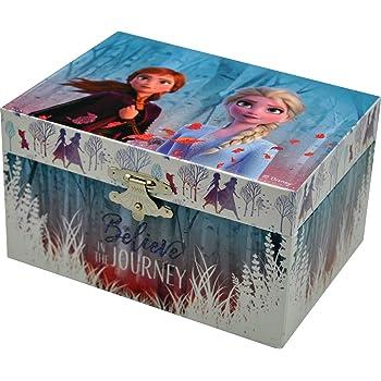 Disney Frozen Boîte à bijoux avec miroir pour Fille/'s cadeau de Noël