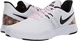White/Black/Laser Fuchsia