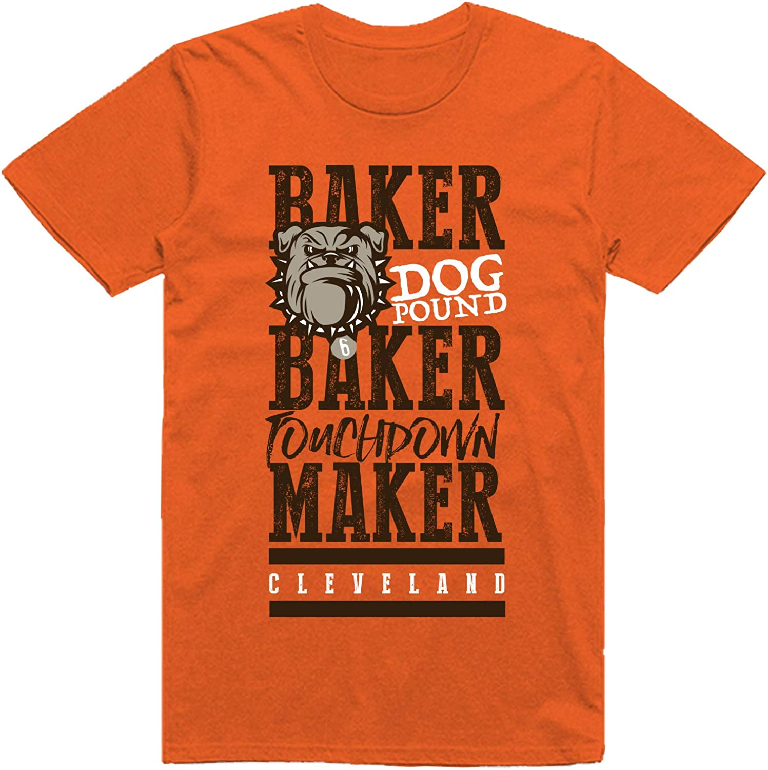 INKpressionists Baker Touchdown Maker F Football Don't miss the campaign Cleveland Great interest