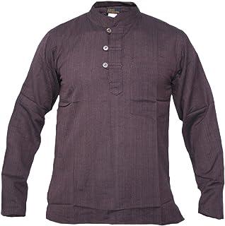 Grandad, diseño hombre de algodón luz Festival verano camisas Tops Kurtas