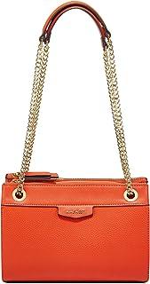 حقيبة كروس نسائية من ناين ويست - لون برتقالي