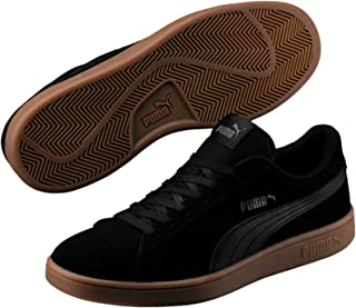 PUMA Men's Smash V2 Blk Shoes, Black Black