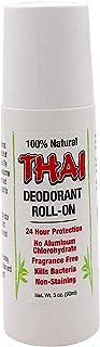 Thai Deodorant Stone Thai Crystal Deodorant Mist Roll-On, 88ml