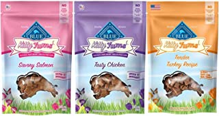 3 Pack Blue Buffalo Kitty Yums Cat Treat Variety Pack (Salmon, Turkey, and Chicken)