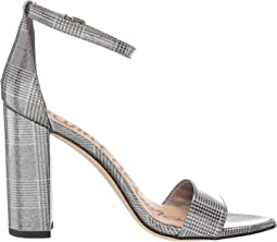 Pewter Multi Plaid Glitter Patent