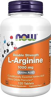 Now Foods L-Arginine, 1,000mg, Tablets, 120ct