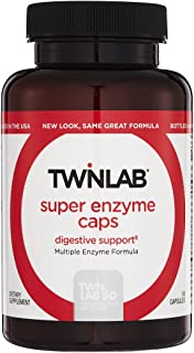 Twinlab Super Enzyme Gut Health Supplement 200Caps