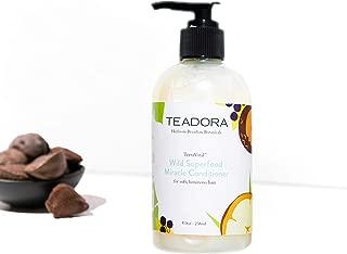 Teadora Brazilian Radiance Nourishing Conditioner | Vegan & Sulfate Free (RainForest at Dusk, 8 oz)