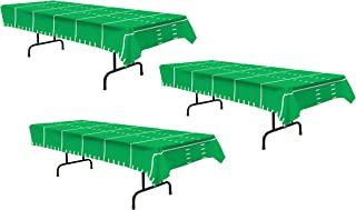 Beistle S57942AZ3 3Piece Game Day Football Tablecovers, 54