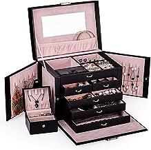 large travel jewelry box
