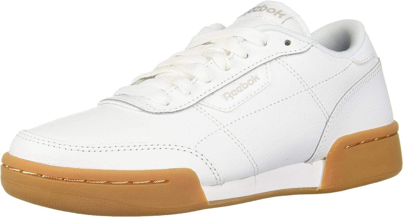 Reebok Men's Royal Heredis Walking shoes, White Steel Gum, 4 M US