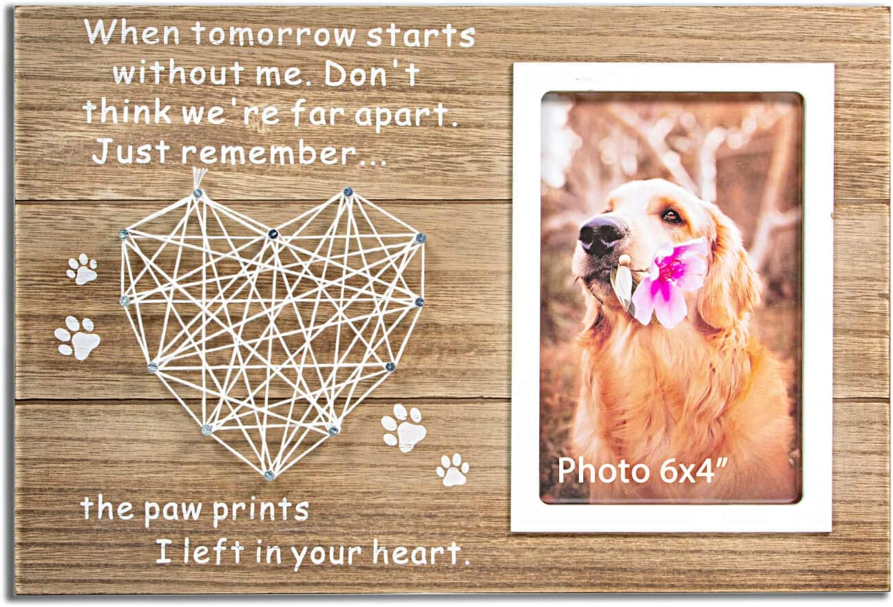 VILIGHT Dog and Cat Memorial Gifts - Picture Paw Now National products free shipping Sympathy Prints