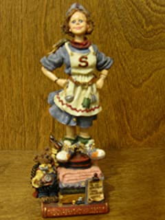 Boyds Bears Resin Domestica T Whirlwind Nqga Of Supermoms Mom Angel Folkstone - Resin 7.00 IN