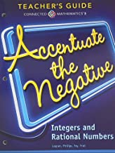 Connected Mathematics 3, Teacher's Guide, Accentuate the Negative