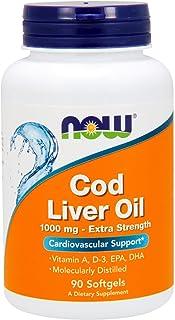 Now Cod Liver Oil 1000 Mg Softgels - 90 Softgels