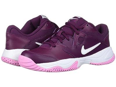 Nike Court Lite 2 (Bordeaux/White/Pink Rise) Women