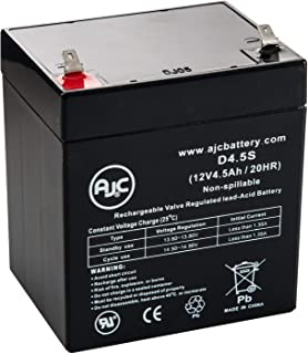 Universal Power 12 Volt 4.5 Ah (UB1245) 12V 4.5Ah Alarm Battery : Replacement - This is an AJC Brand Replacement