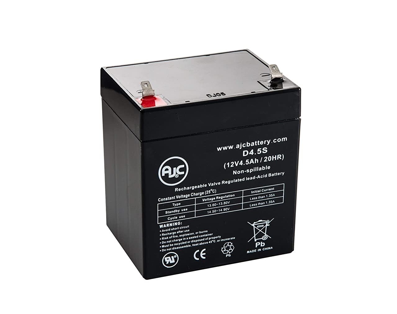 CPS425SL 12V 4.5Ah UPS Battery - This is an AJC Brand Replacement