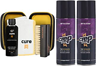 Cure Travel Kit + 2 Rain & Stain Shoe Spray (Combo) with Free Gift Box