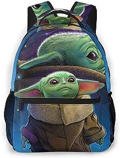 Star Wars Ba-by Yoda Awakens Casual Backpack School Travel bag Lightweight Laptop Multipurpose waterproof Shoulder Bag