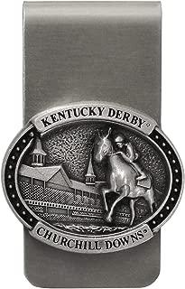 Indiana Metal Craft Kentucky Derby Churchill Downs Horse & Jockey Money Clip