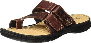 Scholl Men's Rope Flip Flops Thong Sandals