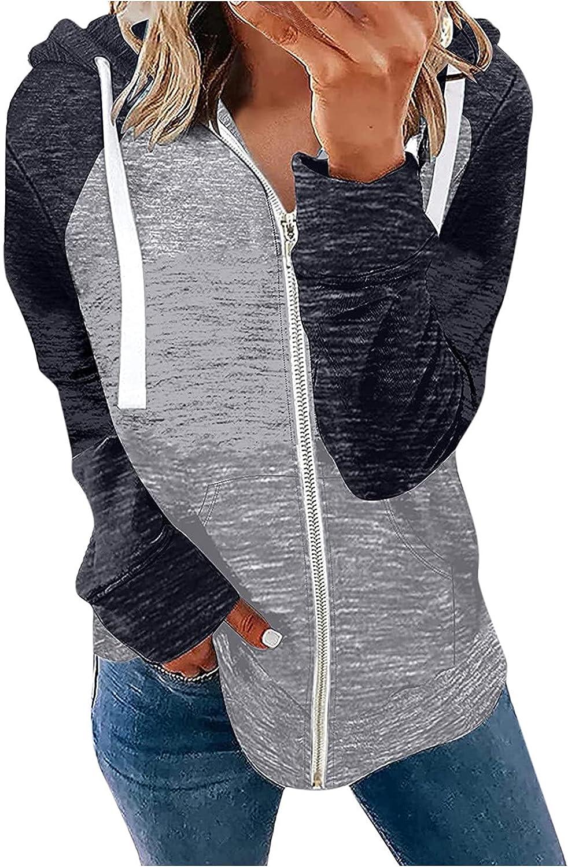 Plus Size Sweatshirts for Women Long Sleeve Hoodies White Zipper Tops Fashion Autumn Winter Pullover