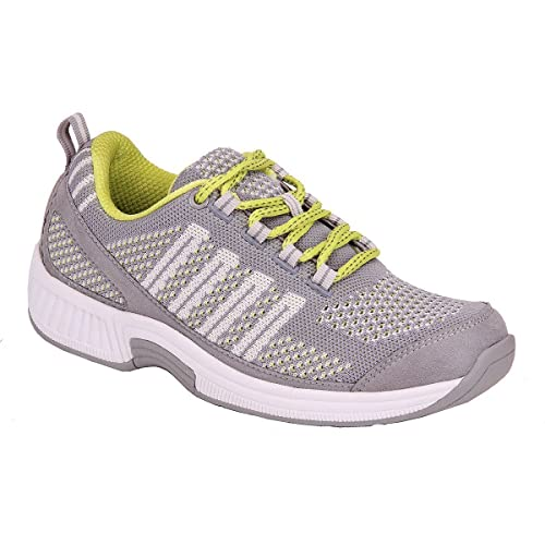 29763777b0347 Orthofeet Women s Plantar Fasciitis Orthopedic Diabetic Walking Athletic  Shoes Coral Sneakers